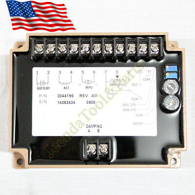 New Engine Speed Controller Efc3044196 Fits Cummins 12-24v Generator