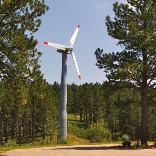 Wind Turbine Nordtank 50 kW, Single Phase, 240 Volt
