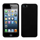MYBAT Plain Silicone/Gel/Rubber Cases and Covers for iPhone 5
