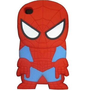 Cute 3D Disney Cartoon Hero Silicone Soft  Back Case Cover For iPhone 5G Ipod 4G