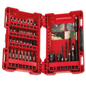 Milwaukee 40 Piece Shockwave Drill Driver Set Impact Duty Bits 4932430582