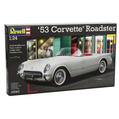 Revell 07067, 53 Corvette Roadster, Bausatz, 1:24, originalgetreue Nachbildung