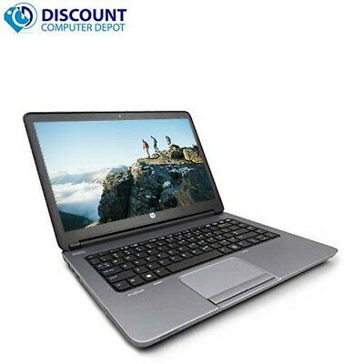"Laptop Windows - HP Probook Laptop Computer Windows 10 14"" PC Dual Core AMD CPU 2.5GHz Wifi DVD"