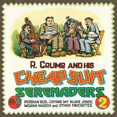 Crumb,R. & His Cheap - Persian Rug, Crying My Blues Away, Moana March and Other ()
