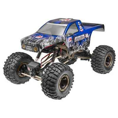 Redcat Racing Everest 10 1:10 Scale Rock Crawler Brushed RC Truck, Blue (Used)