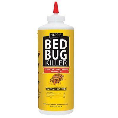 Harris Bed Bug Diatomaceous Earth Powder,