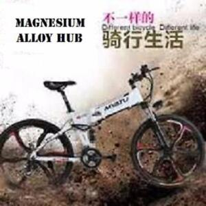 Weekly Promo! High Quality 26  Aluminum alloy Folding  Mountain eBike, X5-26, Magnesium Alloy Hub, $1699(was $2199)