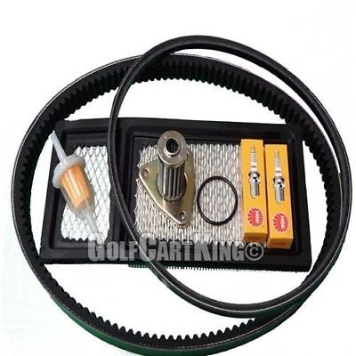 EZGO TXT Gas Golf Cart Tune Up Kit (94-05) w/Oil Filter Drive and Starter Belt for sale  Shipping to South Africa