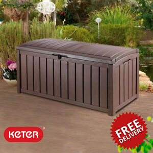 KETER-GLENWOOD-GARDEN-STORAGE-BOX-HUGE-390-LTR-rrp-90