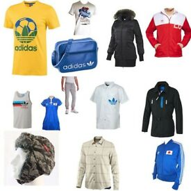 Sale Of Business - Job Lot Wholesale 100% Authentic Adidas Originals Stock - Close Of Business
