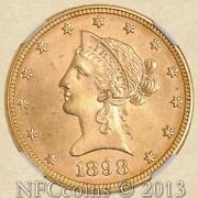 1898 $10 Gold