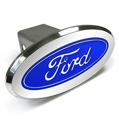 Ford Oval Hitch Cover (Ford Logo Oval Aluminum Tow Hitch)