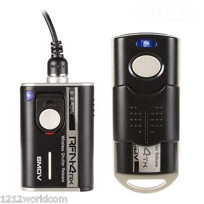 SMDV RF-905 Wireless Cable Shutter Release - Olympus OM-D E-M1 Mark II, EM1 Mk2