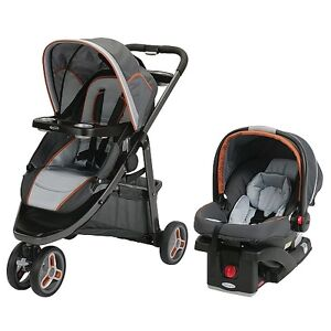 Graco Travel System w/SnugRide Click Connect 35 Infant Car Seat