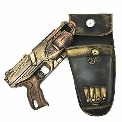 Steampunk Toy Gun Holster Nerf Cosplay Costume Accessory Soft Darts