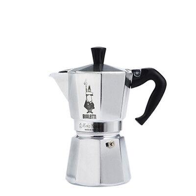 espresso machine bailetti moka express 2cup aluminium