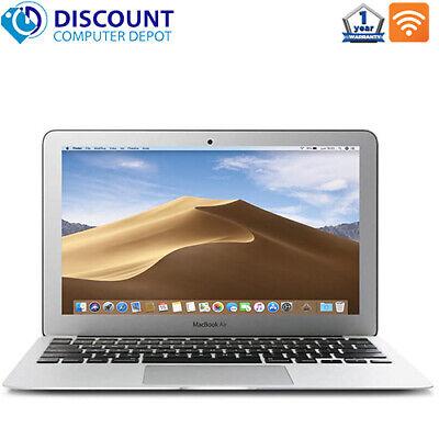 """Apple MacBook Air 11"""" Core i5 1.6GHz 4GB 128GB SSD A1465 - MJVM2LL/A OS Mojave"""