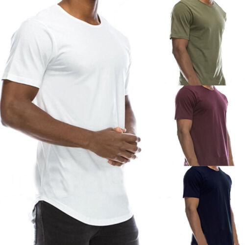 Fashion Men's Tee Shirt T-Shirt Slim Fit Short Sleeve Summer Casual Tops T Shirt