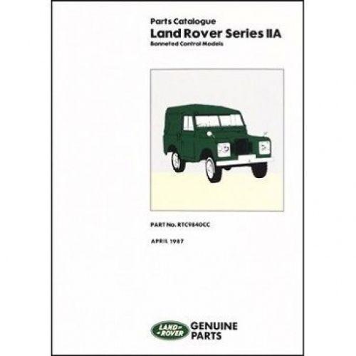 Land Rover Parts Catalogue