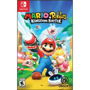 Mario vs rabbids mint switch game
