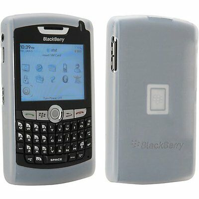 OEM NEW White Silicon Gel Sleeve Skin Cover Case Blackberry 8800 8810 8820 8830