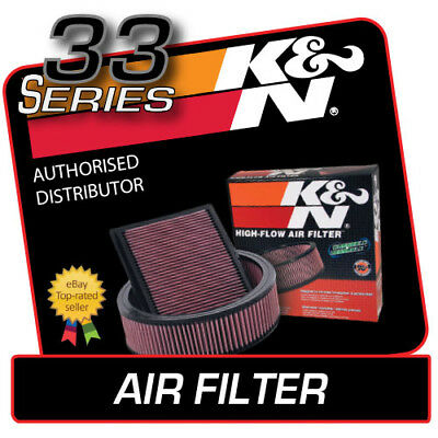 33-2980 K&N High Flow Air Filter fits Nissan NAVARA 2.5 Diesel 2005 [OEM 16546EB