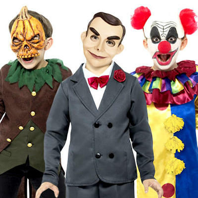 Goosebumps Kids Halloween Fancy Dress Spooky Scary Horror Boys Childrens - Spooky Kids Kostüm