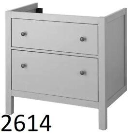 IKEA Birmingham, HEMNES Wash-stand with 2 drawers, grey, WAS £169 #circularhub