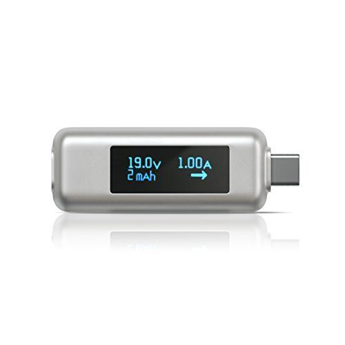 SATECHI USB-C POWER METER TESTER VOLTAGE AND CURRENT CHECKER MACBOOK