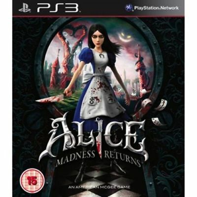 Alice Madness Returns PS3 brand new (US import)