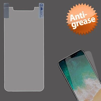 Apple iPhone X XS Anti Glare LCD Screen Protector with Cleaning Cloth Accessory