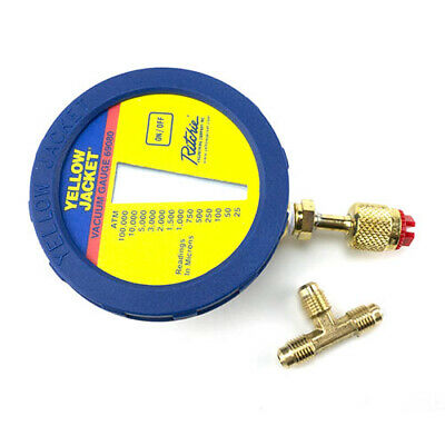 Yellow Jacket 69080 Digital Lcd Vacuum Gauge W Battery Hook Pouch
