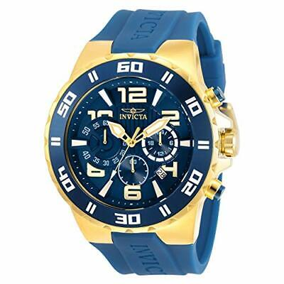 Invicta Men's 30938 Pro Diver Quartz Chronograph Blue Dial Watch