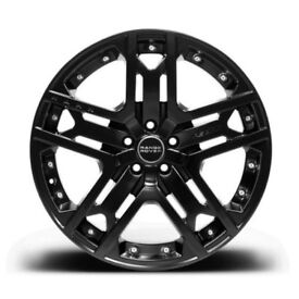 """VW T5 T6 Transporter Set of 4 20"""" inch Alloy Wheels by Kahn RS 600"""