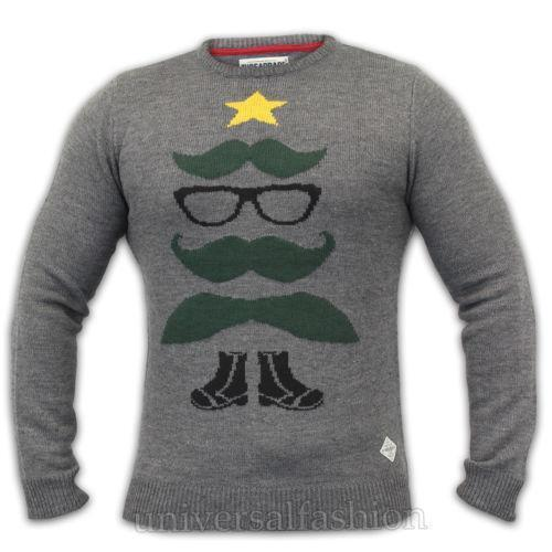 Mens Threadbare Christmas Jumper Xmas Novelty Funny Sweater Santa Elf Snowman See more like this. Mens Christmas Jumper Xmas Knitted Santa Crackin Novelty 3D Sweater New S M L XL. Brand New. $ From United Kingdom. Buy It Now +$ shipping. 25+ Sold. SPONSORED.