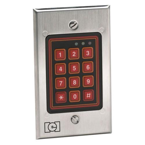 Linear 212SE Weatherproof Keypad Silver