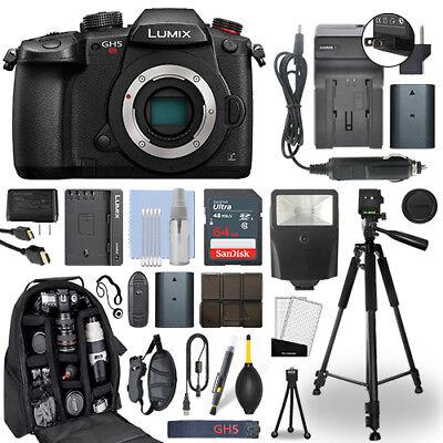 Panasonic Lumix DMC-GH5S 10.28 MP 4K Digital Camera Body + 6