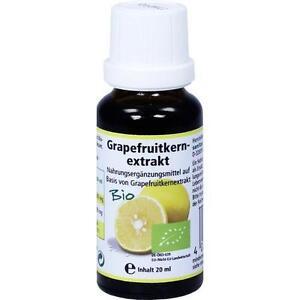 GRAPEFRUIT KERN Extrakt Bio Lösung 20 ml PZN 1153013