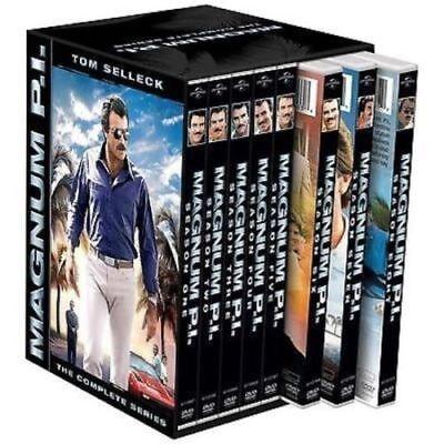 Magnum P.I. The Complete Series Seasons 1-8 DVD Disc Box Set  VISA,MC PAYMENT