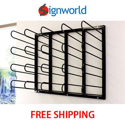 Vinyl Roll Rack Wall Mount Digital Media Printing Pre-mask Storage