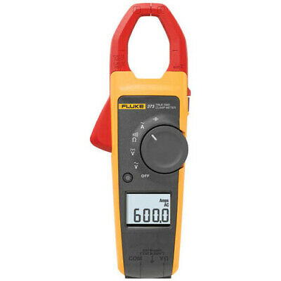 Fluke 373 True-rms Ac Clamp Meter 600a Ac 600v Acdc