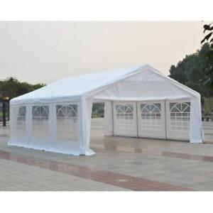 Sale @ WWW.BETEL.CA || Brand New 20' x 20'ft Large Steel Wedding & Event Tent || We Deliver FREE!!