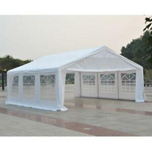 GENUINE PRICING @ WWW.BETEL.CA || Brand New 20x20 ft Large Steel Wedding & Event Tent || FREE CANADA-WIDE DELIVERY!!