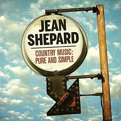 Jean Shepard - Country Music: Pure & Simple 50 Track Best Of [New CD] UK -
