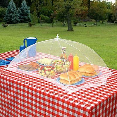GIANT OUTDOOR FOOD PROTECTION COVER TENT GRILLING PATIO PICNIC BBQ CAMPING