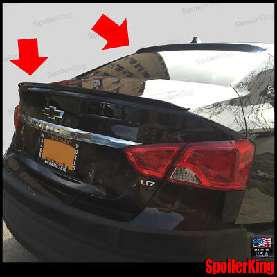 COMBO Rear Roof Wing & Trunk Lip Spoiler Fits: Chevy Impala 2014-2020 284R/244L