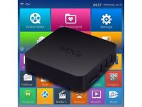 Latest MXQ 4K Quad Core Android TV Box - Fully Loaded - Free Sports Movies