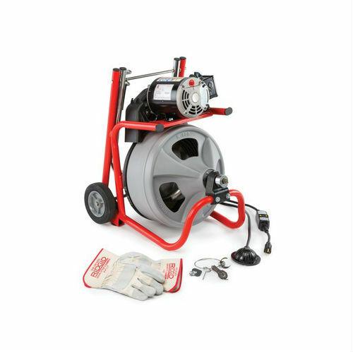 "Ridgid 52363 K-400 Drain Cleaner Machine w/ 3/8"" x 75ft Cable"