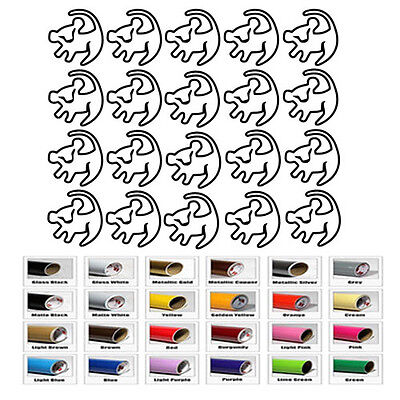 20 Simba Sticker for Decal Home Decor Wall Window Car Room Envelope party - Wall Decorations For Parties