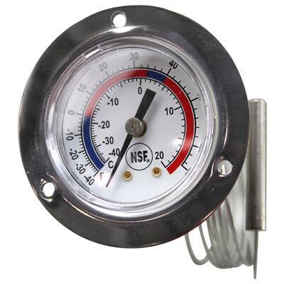 Miljoco V20362002 Walk-in Thermometer Temp -40f To 65f